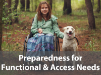 Preparedness for functional & Access Needs