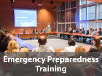 Emergency preparedness trianing
